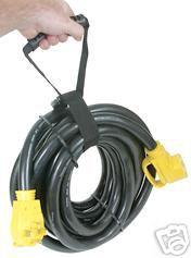 50 Amp Rv Power Cord W Handle 30 Power Grip 55195 New
