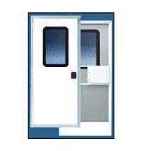 DEXTER 30″ X 72″ RIGHT HANDED POLAR WHITE RV DOOR; 560014 (1842374)