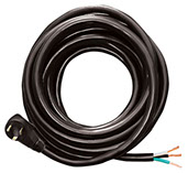 Voltec 25' 30 Amp Male Plug End Power Cord ;19-0392 16-00562