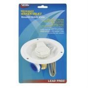 VALTERRA CITY WATER ENTRY RV; RECESSED WATER INLETCOLONIAL WHITE LEAD FREE; A01-0177LFVP