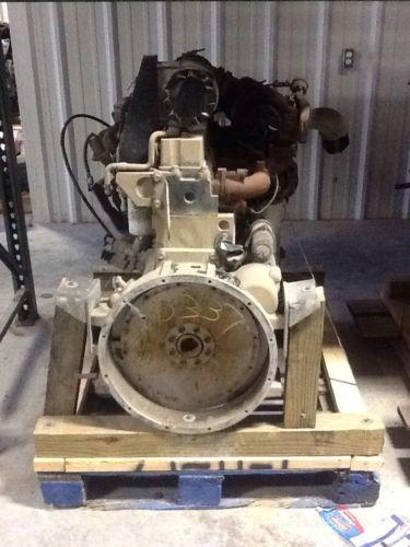 Cummins 8.3 Mechanical Engine back