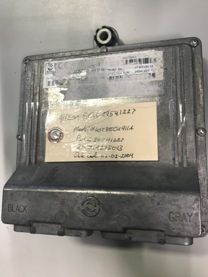 Allison transmission TCU 29541227 front