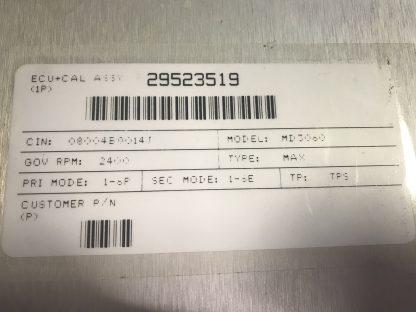 Allison shift selector 29524779 label