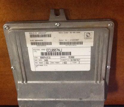 Allison transmission TCU 29534937 front