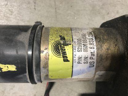 power gear slide-motor 523900 label