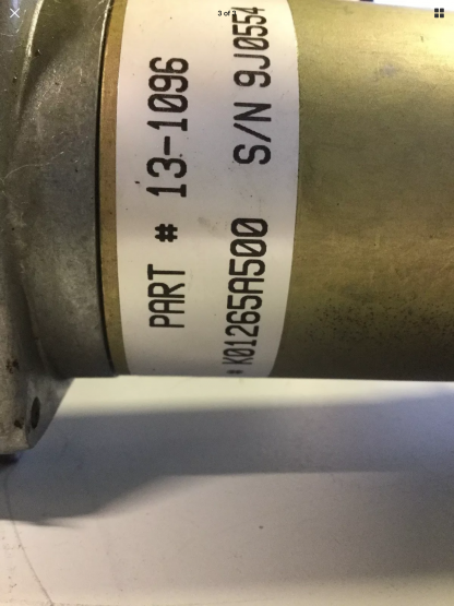 Power gear slide out motor 520430 other label