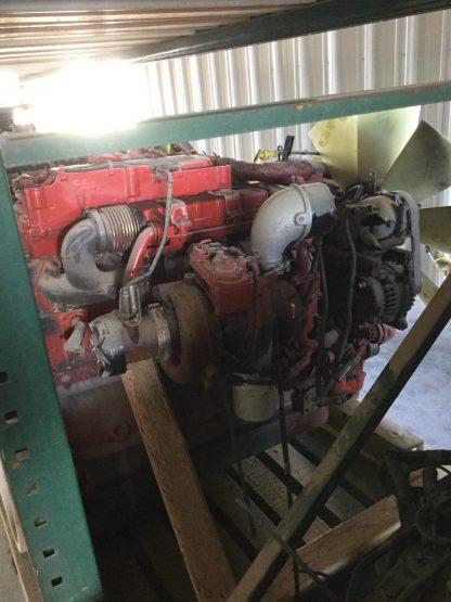 used 2014 Cummins ISL9 engine left side view