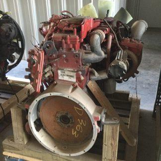 used 2014 Cummins ISL9 engine back view