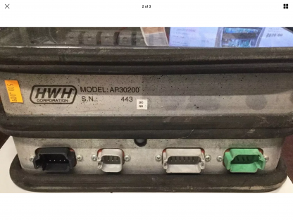 HWH leveling control AP30200 label