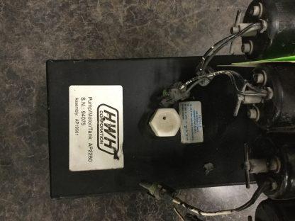 HWH hydraulic leveling pump AP2260 Label