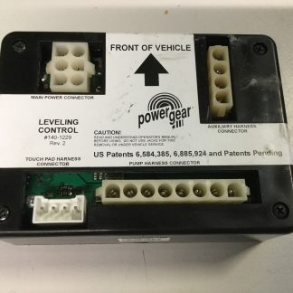 Powergear jack control 140-1229 assembly