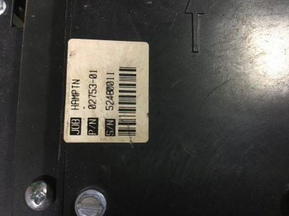Powergear jack control 500106 label
