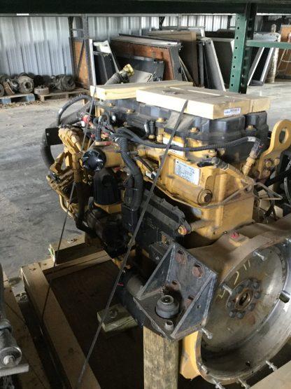 2007 caterpillar C9 motor right side