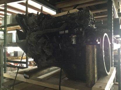 2000 Cummins 5.9ISB motor left side