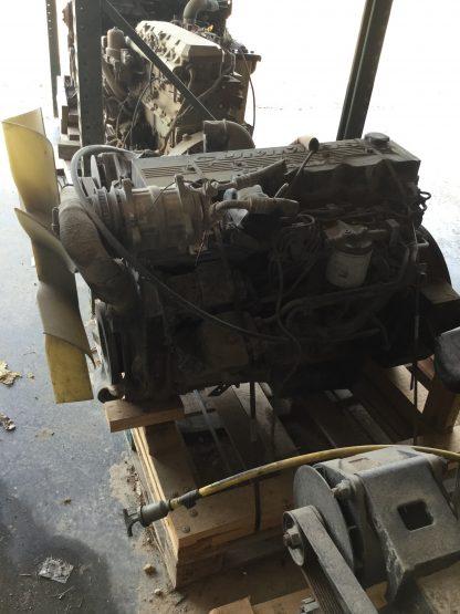 1999 Cummins 5.9ISB motor left side