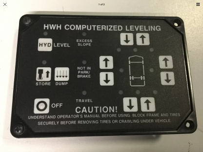 HWH touch pad AP1087 front