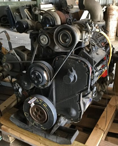 2000 Cummins 8.3ISC motor back