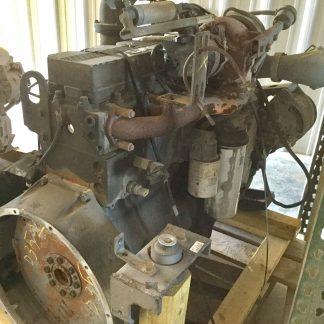 2000 Cummins 8.3ISC motor left side