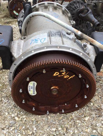 HD4060 Allison transmission front