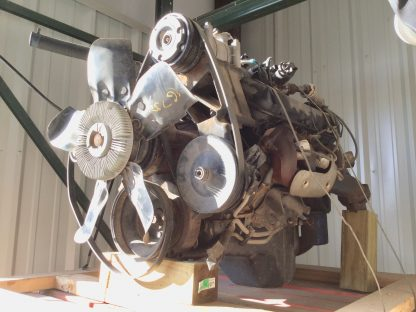 1998 Chevy 454MFI motor right side