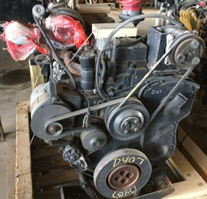 1999 Cummins 8.3ISC motor back