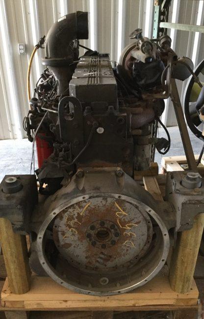 2000 Cummins 8.3ISC motor front