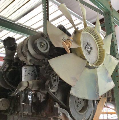 2000 cummins 5.9ISB motor front