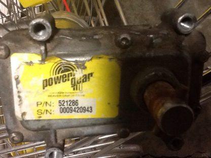 Powergear slide motor 521286
